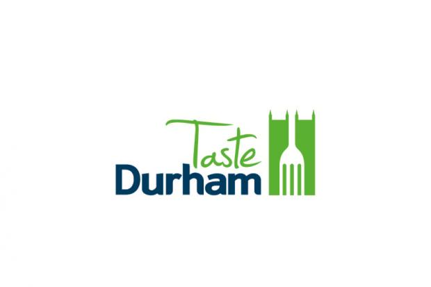 Look out for the Taste Durham logo