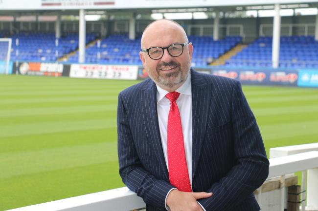 Andy Steel, Hartlepool College of FE Vice Principle and Hartlepool United director