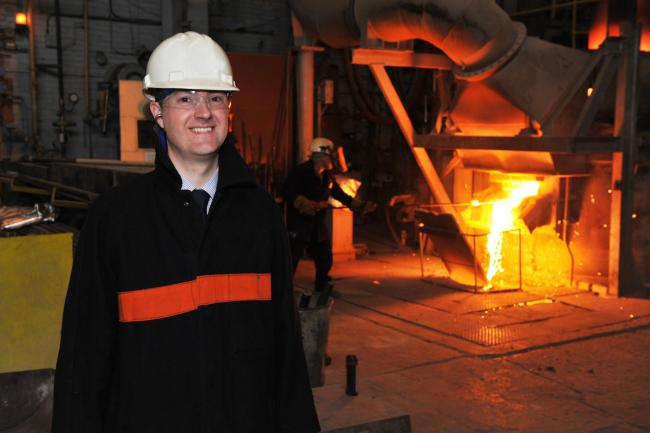 Chris McDonald, chief executive of the Middlesbrough-based Materials Processing Institute