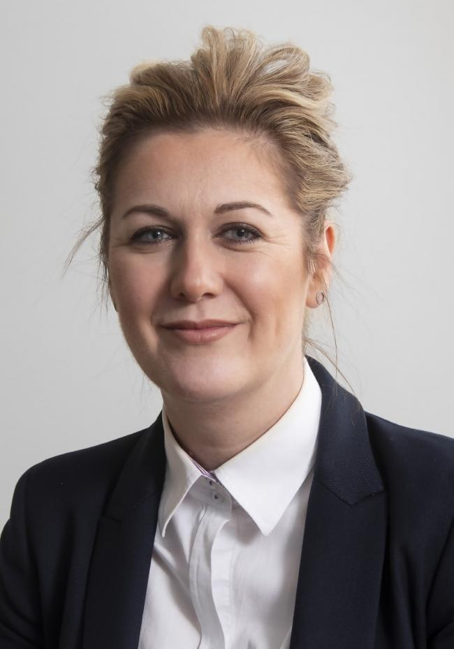 Kelly Green, of Lloyds Bank Commercial Banking