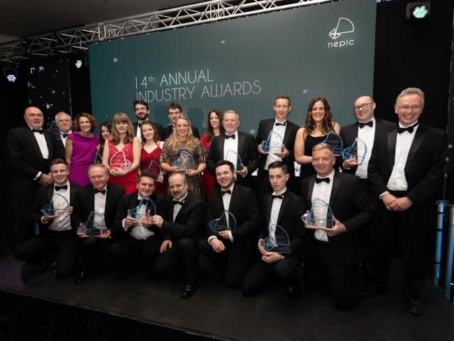The winners at the 14th annual North East Process Industry Cluster award ceremony