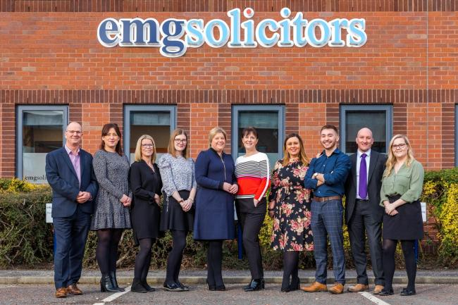 New staff members for EMG Solicitors, which has offices in Durham and Newcastle