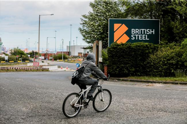 British Steel at Lackenby Works Picture: SARAH CALDECOTT.